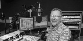 Adrian Nolan in studio