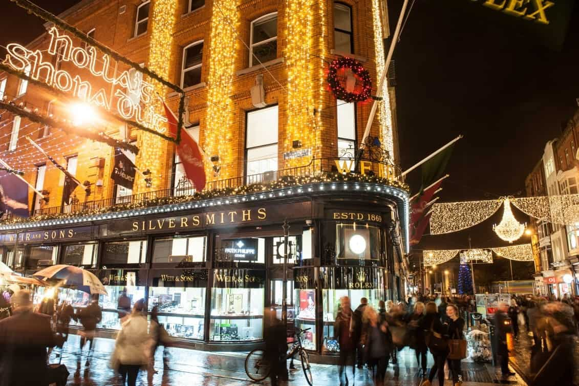 when is the best time to shop in dublin this christmas