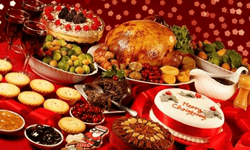 Image result for christmas food images