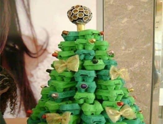 eggcarton-christmas-tree