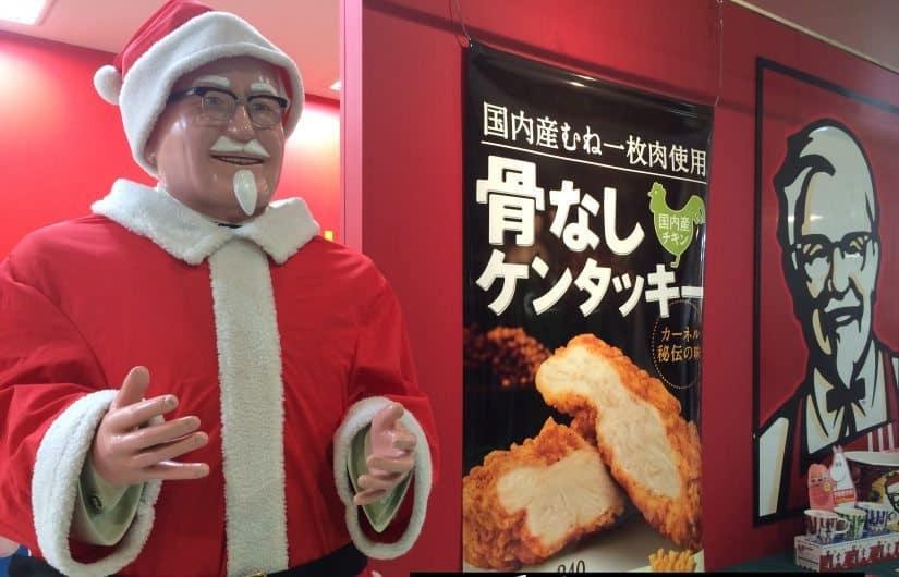 Kfc Christmas Japan.Kfc A Very Japanese Christmas Tradition Christmas Fm