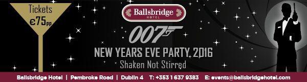 NYE: Shaken Not Stirred Party