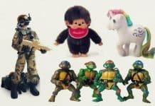 retro toys banner