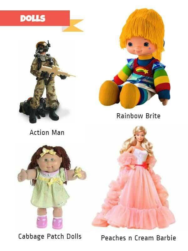 Retro Toys Dolls