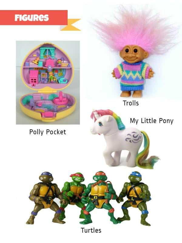 Retro Toys Figures