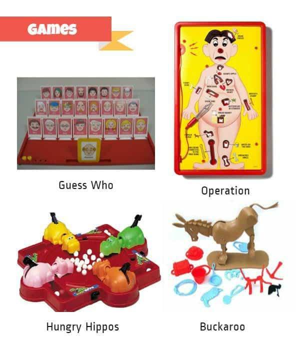 Retro Toys Games