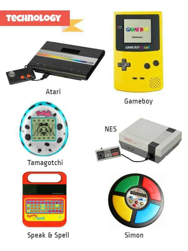 Retro Toys Technology