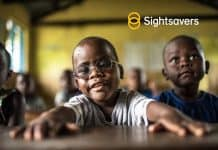 Criscent with Sightsavers logo
