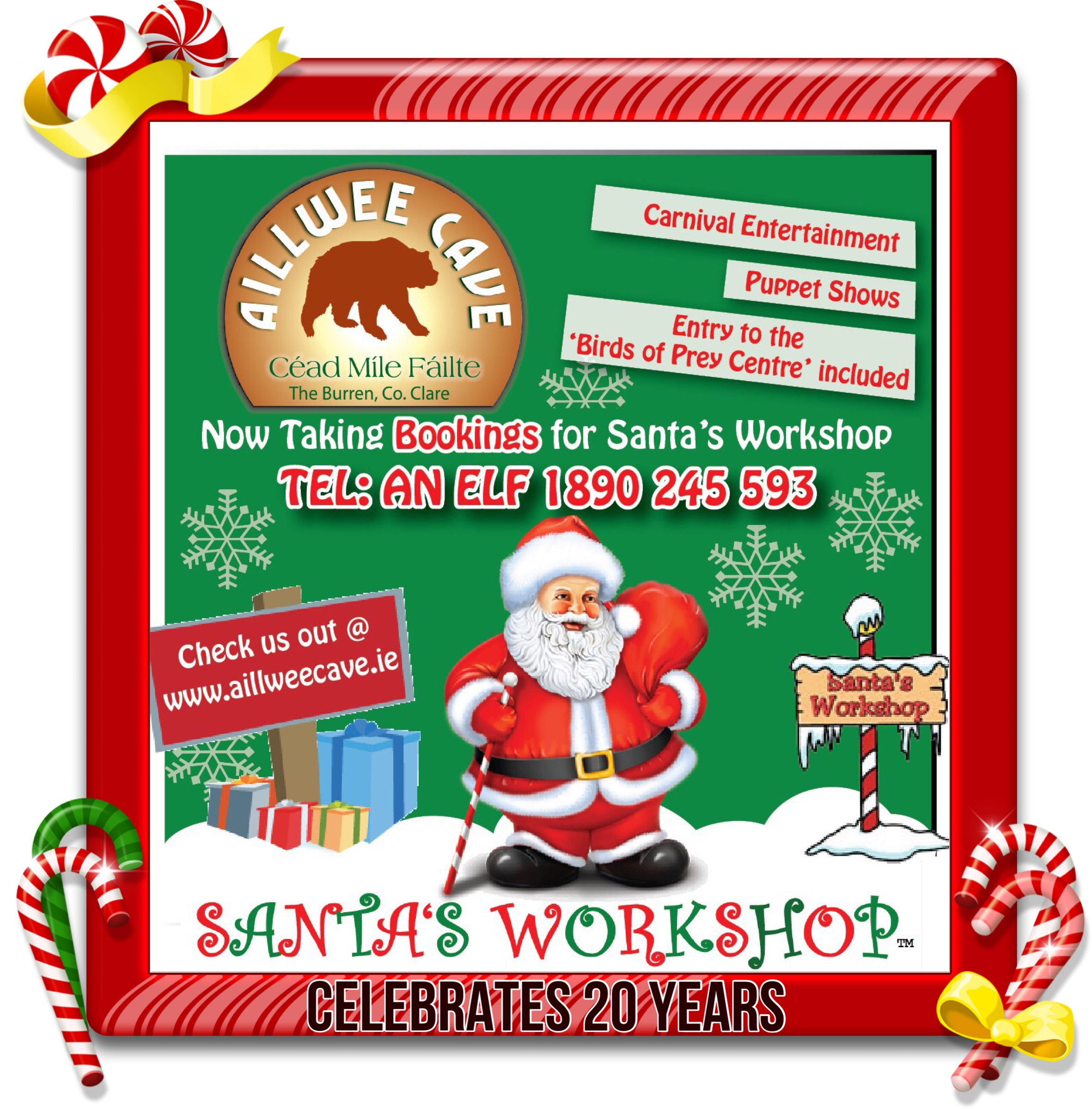 Santa's Workshop at Aillwee