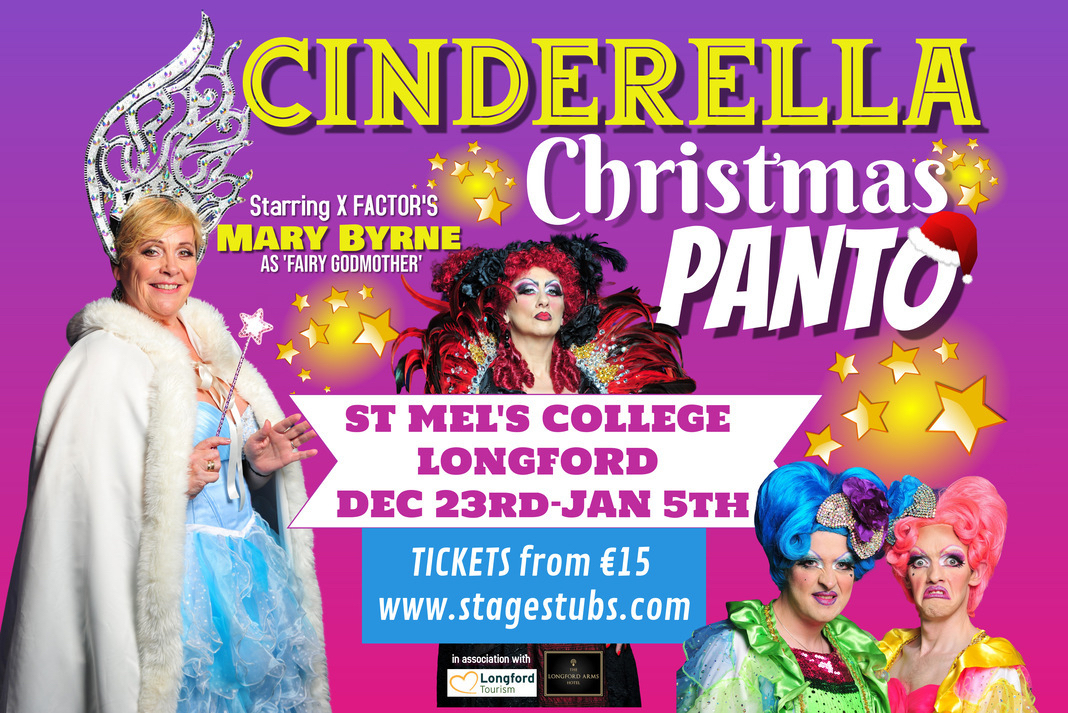 Cinderella – Longford Panto starring Mary Byrne