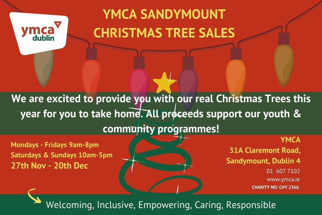 YMCA Dublin Christmas Tree Sale Fundraiser