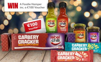 Make It A Crackin' Christmas with Carbery Cracker and Rebel Chilli