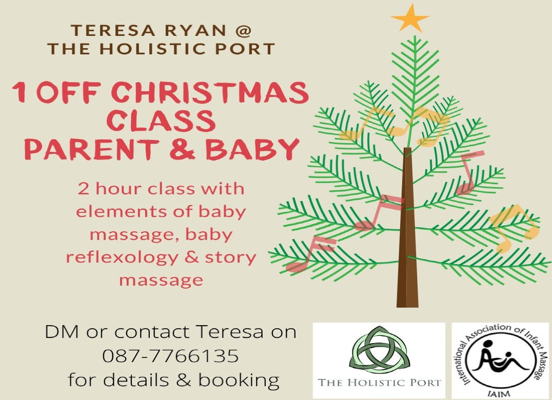 Festive parent & baby class at The Holistic Port