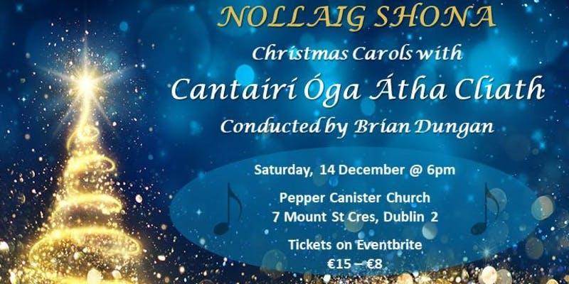 Nollaig Shona – Christmas Carols with Cantairí Óga Átha Cliath